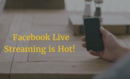 Facebook Live Streaming Video Platform is Hot!