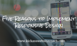 Five Reasons to Implement Responsive Design
